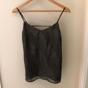 Laundry by Shelli Segal strappy tank top.